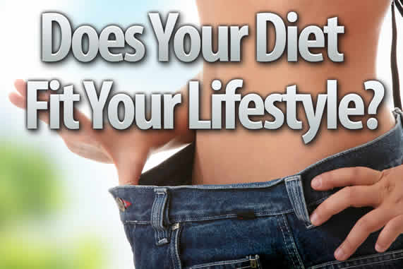 How to Make Your Diet Fit With Your Lifestyle